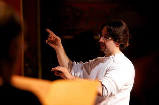 répétition Ensemble Vocal d'Aix les Bains théâtre du casino