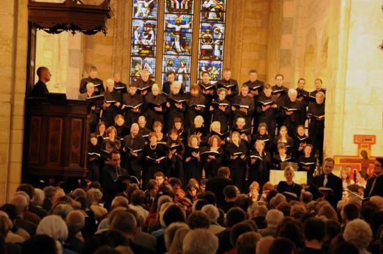 Opus à Voix et  Le Labirynthe, Passion selon St Matthieu Bach avril 2011