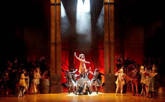 Orphée aux Enfers Opera lausanne 2012 bacchanale