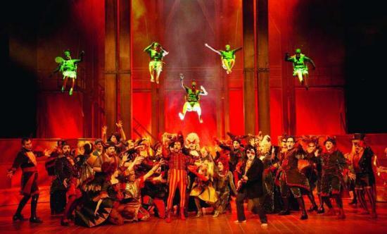 Orphée aux Enfers Opera lausanne 2012 bacchanales et mouches