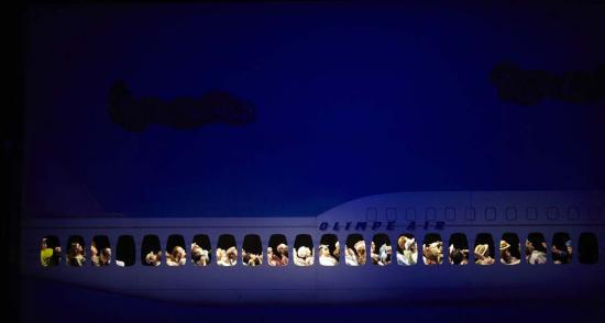 Orphée aux Enfers Opera lausanne 2012 embarquement