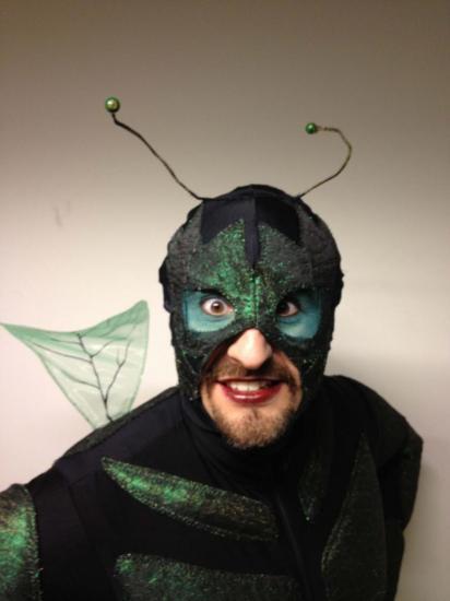 Orphée aux Enfers Opera lausanne 2012 la mouche