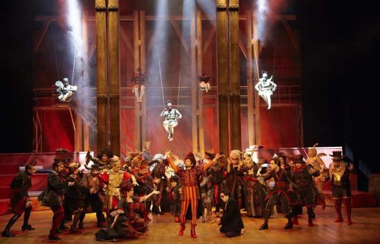 Orphée aux Enfers Opera lausanne 2012 mouches